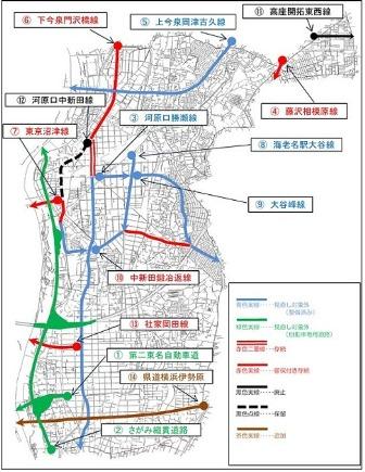 海老名市都市計画道路の見直し結果について|海老名市公式ウェブサイト